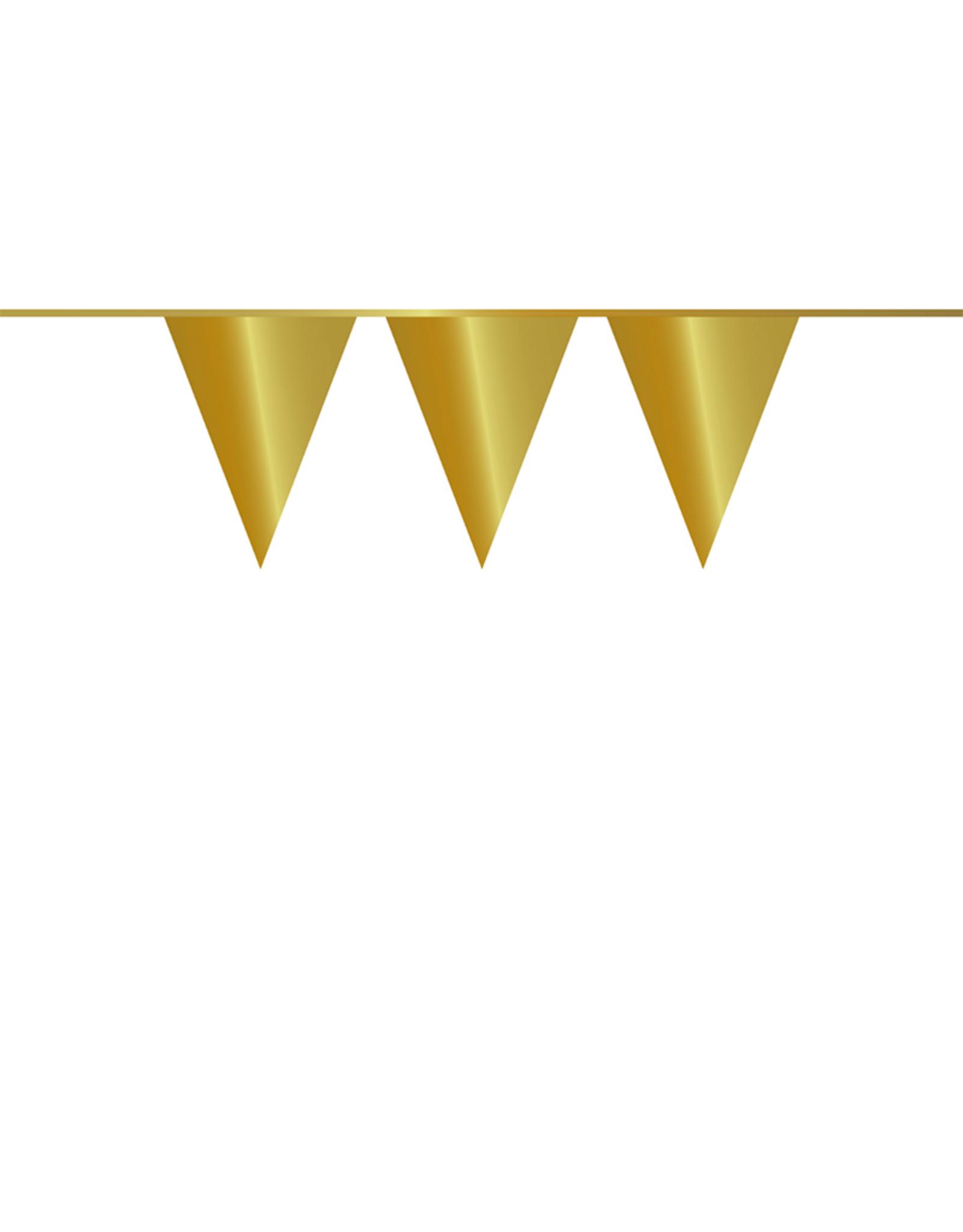 HAZA Vlaggenlijn goud | 10 meter