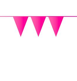 HAZA Vlaggenlijn roze | 10 meter