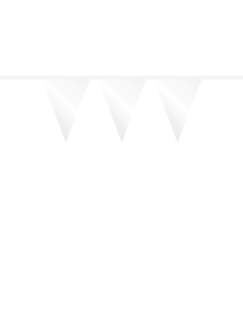 HAZA Vlaggenlijn wit | 10 meter