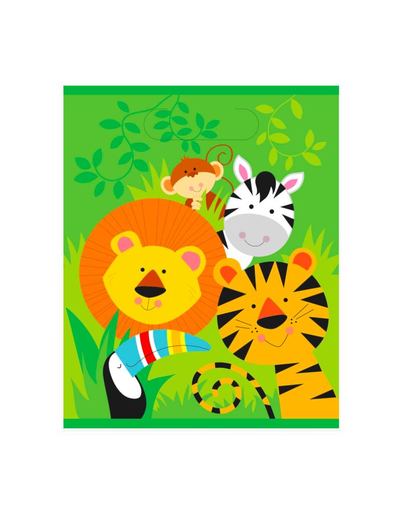 HAZA Uitdeelzakjes safari dieren | 8 stuks