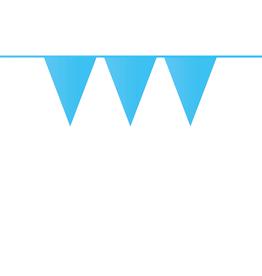 HAZA Vlaggenlijn lichtblauw | 10 meter