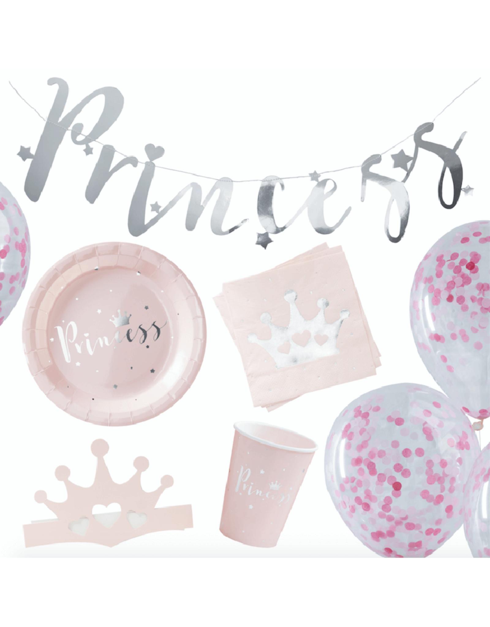 Ginger Ray Partybox prinsessen feestje | 16 personen