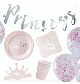 Ginger Ray Partybox prinsessen feestje | 16 pers