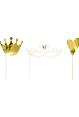 PartyDeco Party props 'Lovely Swan' | 3 stuks