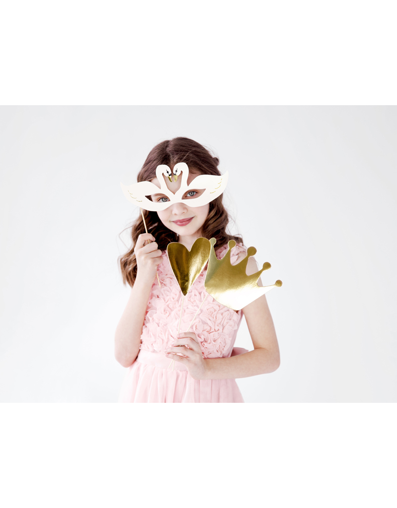 PartyDeco Party props 'Lovely Swan' | 3 stuks