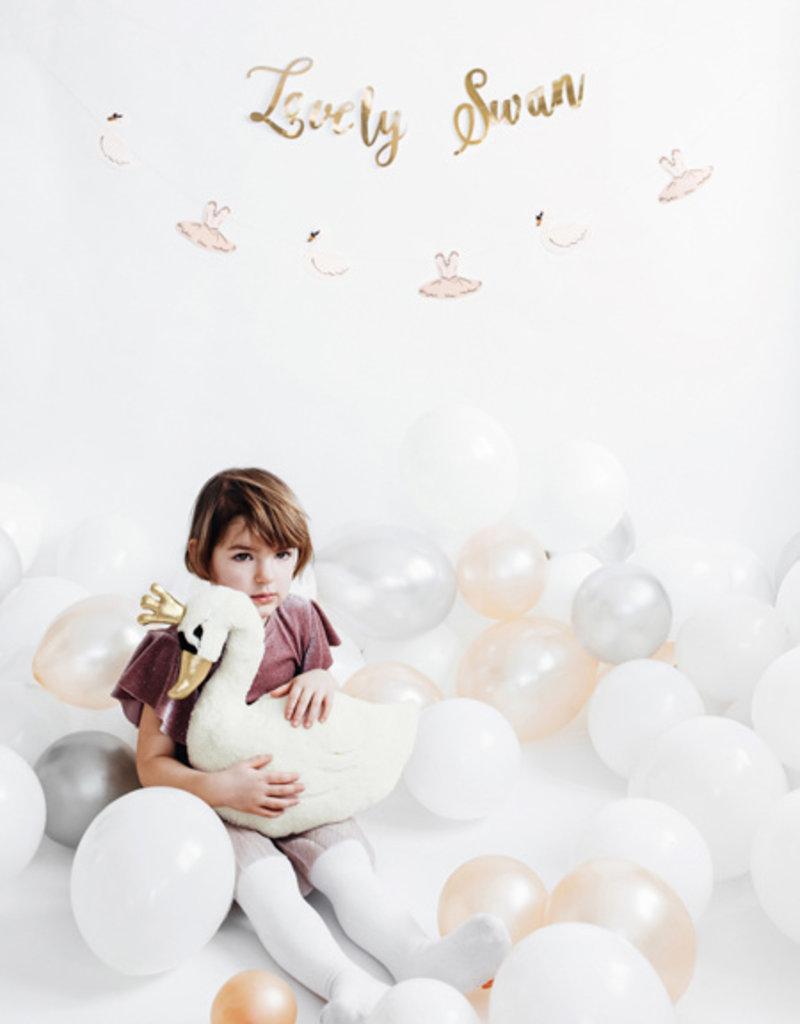 PartyDeco Slinger 'Lovely Swan' | 64 cm