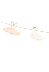 PartyDeco Slinger zwanen & ballerina's | 1,26 meter