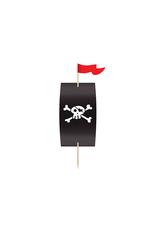 PartyDeco Cupcake kit piraten | 6 stuks