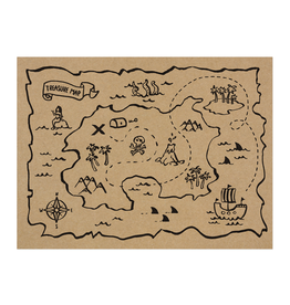 PartyDeco Piraten placemats | 6st