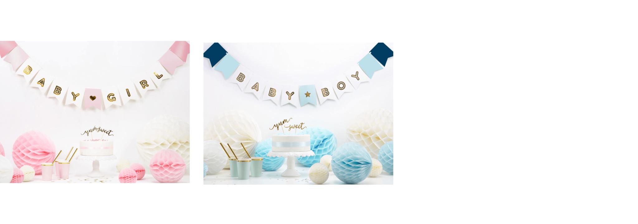 Versiering babyborrel