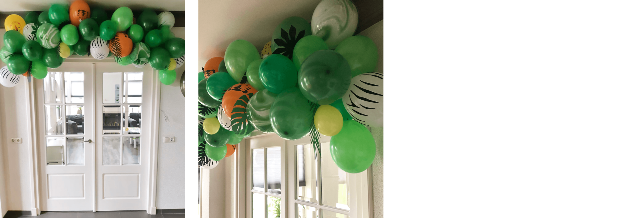 Jungle ballonnenboog