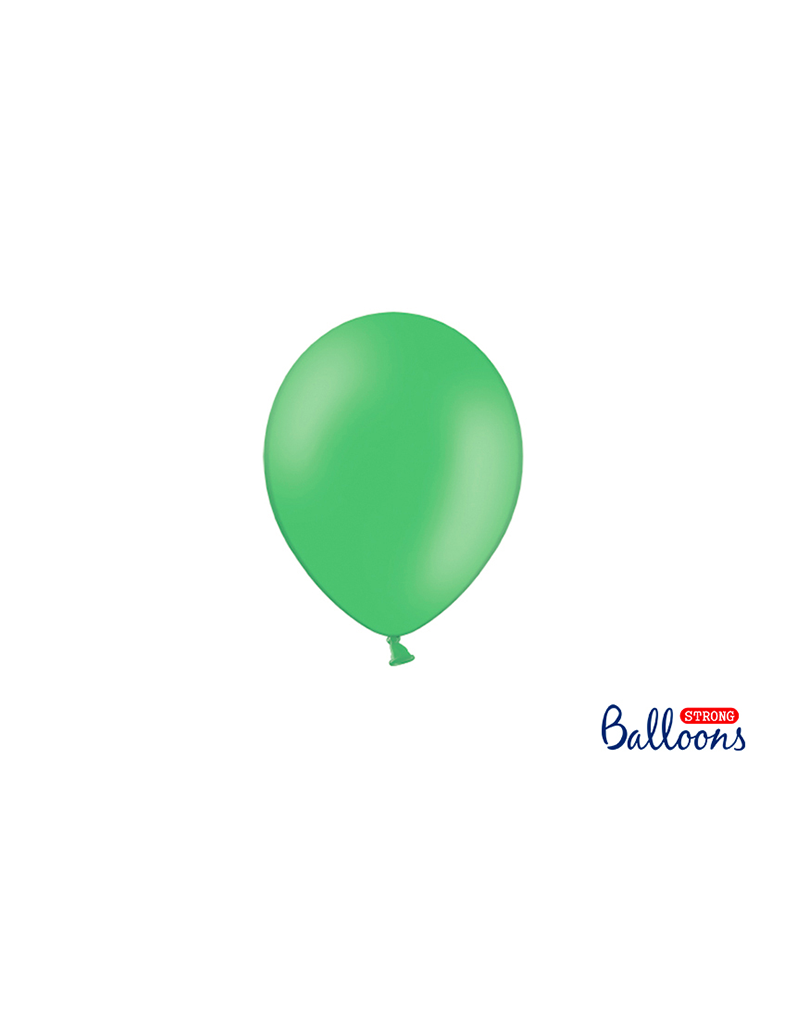 PartyDeco Mini ballonnen groen (12 cm)   10st