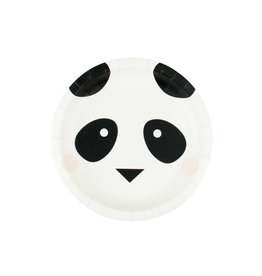 My Little Day Papieren bordjes panda | 8st