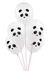 My Little Day Ballonnen panda print | 5 stuks