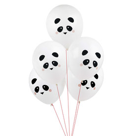 My Little Day Ballonnen panda print | 5st