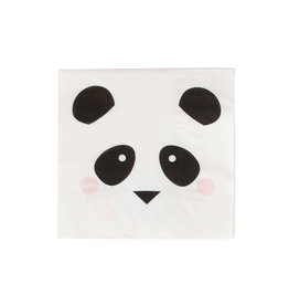 My Little Day Servetten panda print | 20st