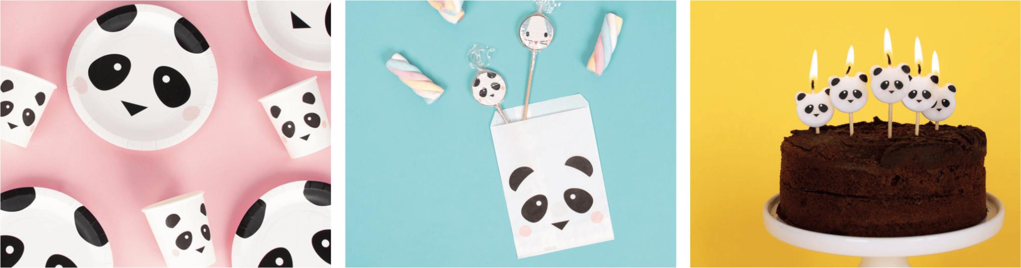 Kinderfeestje thema panda