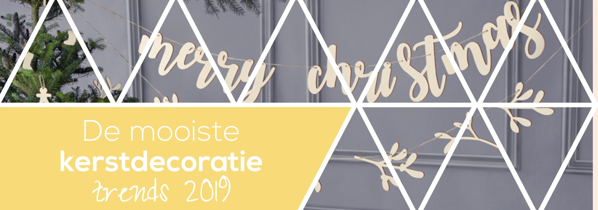 De mooiste kerstdecoratie trends 2019