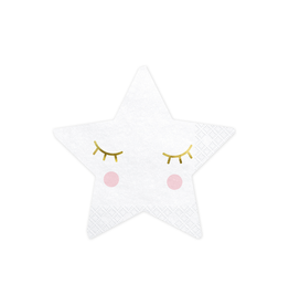 PartyDeco Servetten little star | 20st