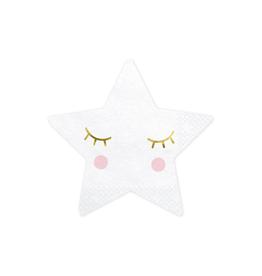 PartyDeco Servetten little star   20st