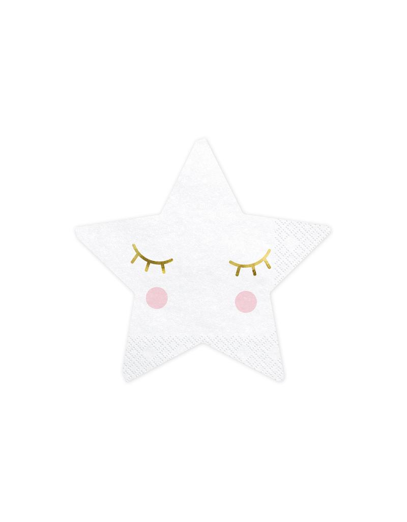 PartyDeco Servetten little star | 20 stuks