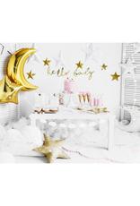 PartyDeco Folie ballon ster goud | 48 cm