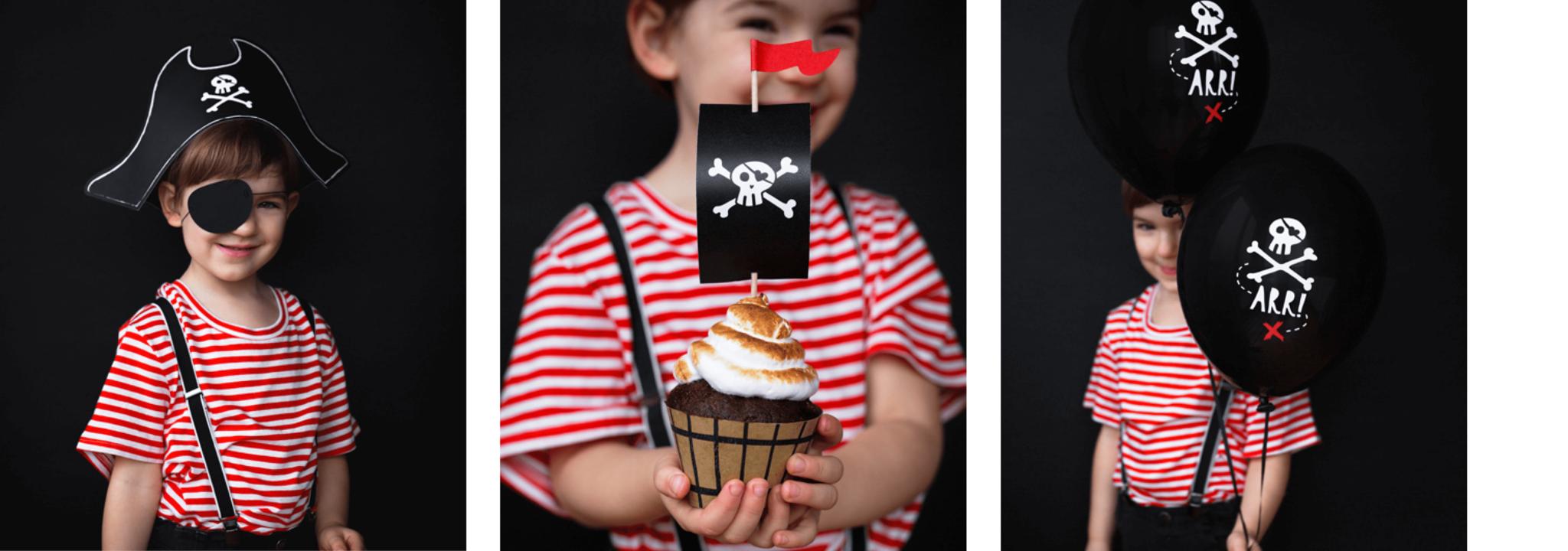 Piraten kinderfeestje thuis organiseren