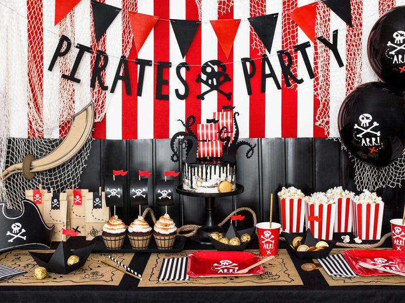 Piraten feestversiering kinderfeestje