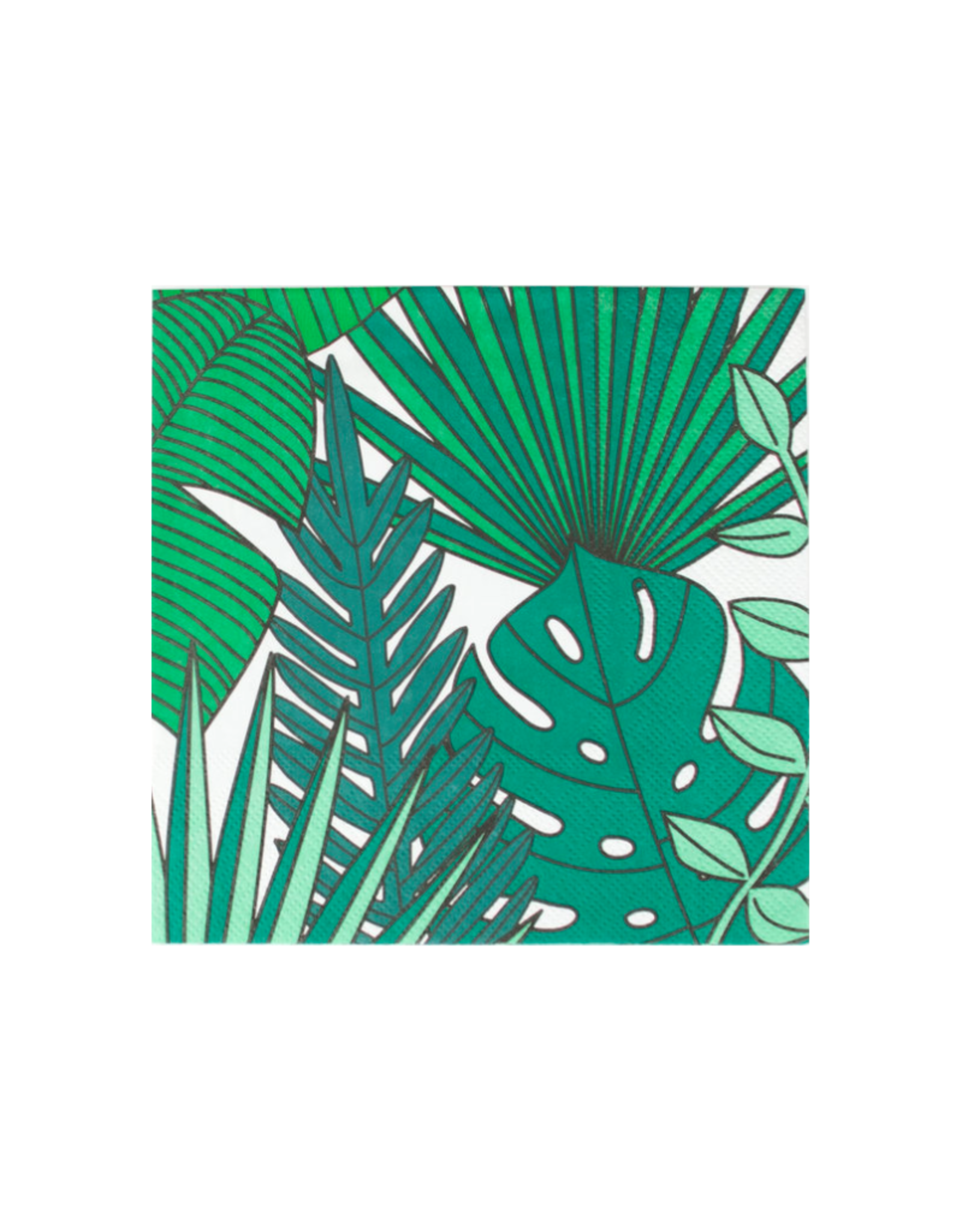 My Little Day Servetten tropical leaves | 20 stuks