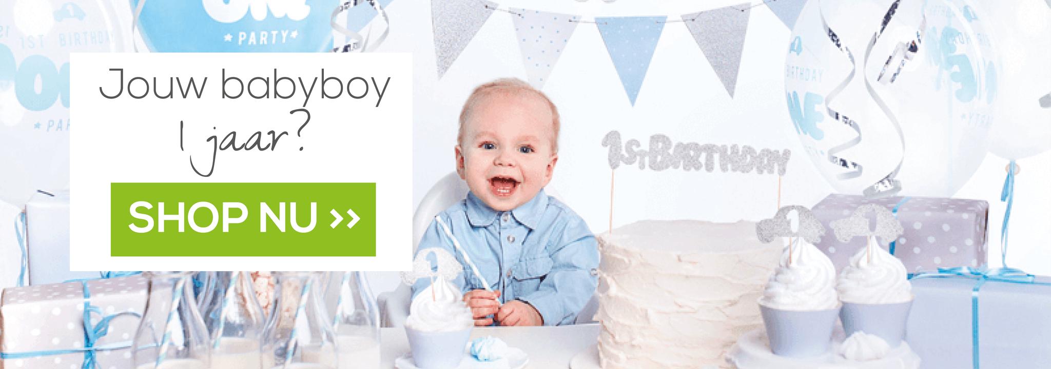 Versiering verjaardag jongen 1 jaar