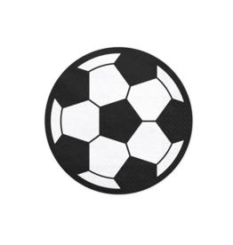 PartyDeco Servetten voetbal | 12st