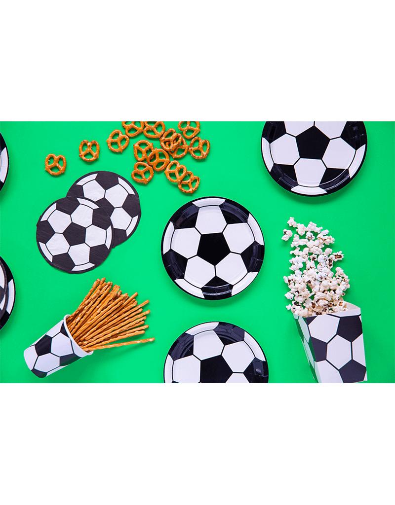 PartyDeco Servetten voetbal   12 stuks