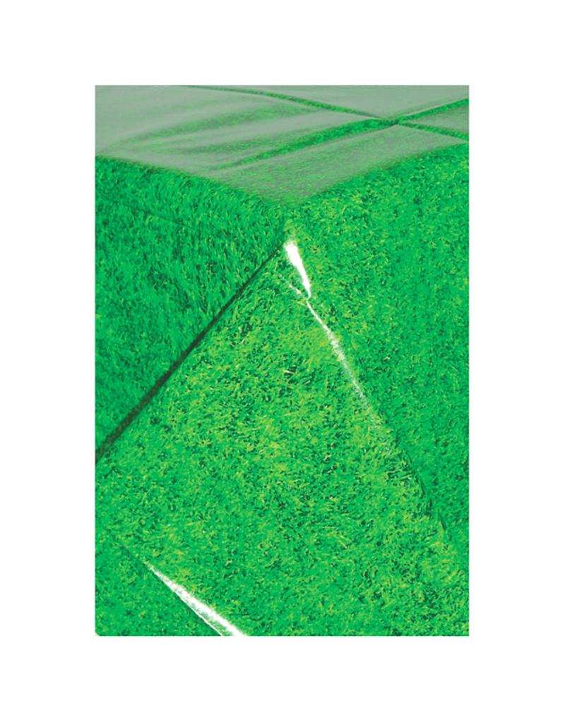 Amscan Tafelkleed gras print   137 x 243 cm