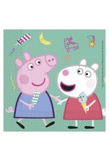 Servetten Peppa Pig   20st