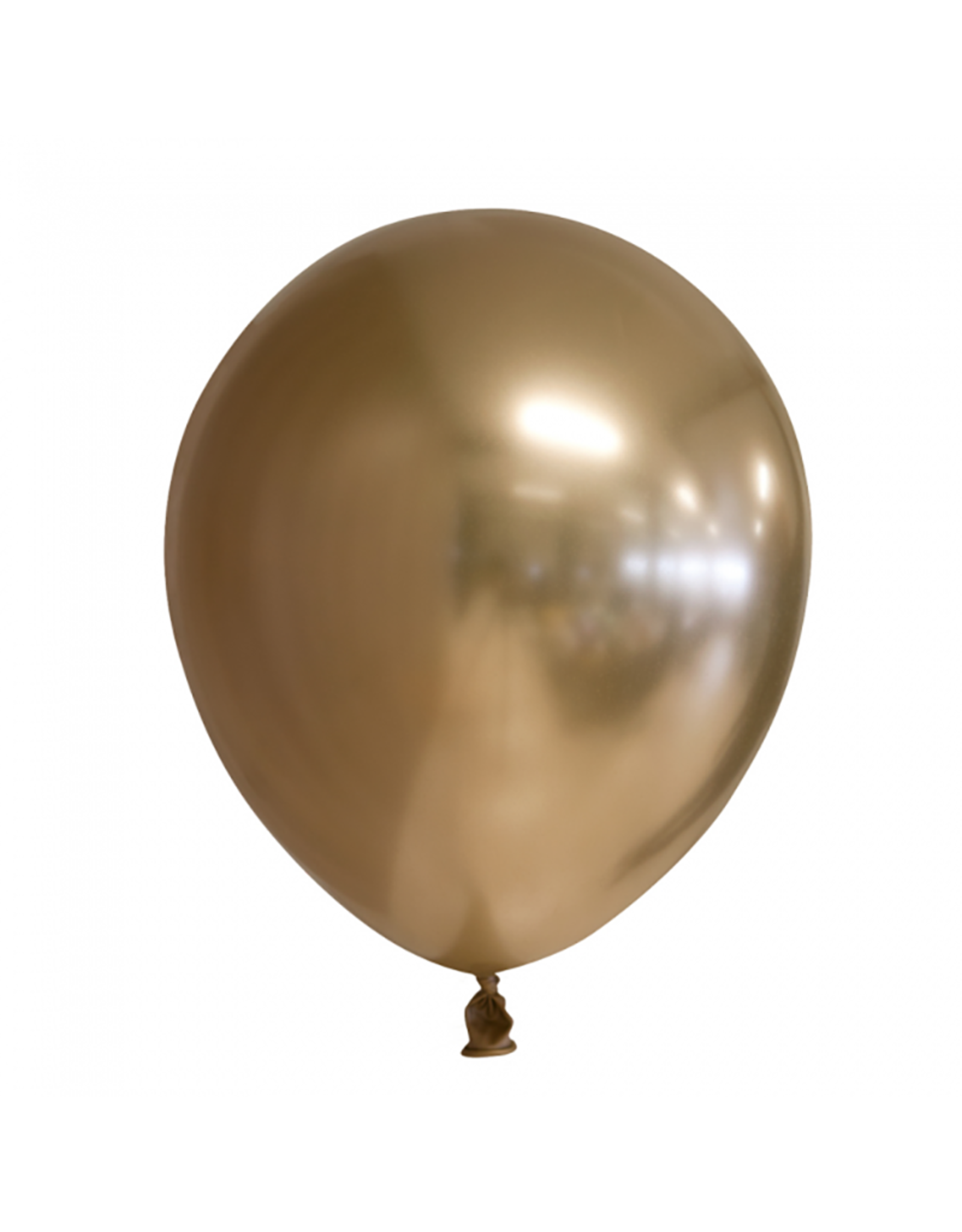 Chrome ballonnen goud (30 cm) | 10st