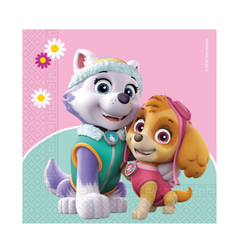 Servetten Paw Patrol Skye & Everest | 20st