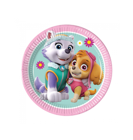 Bordjes Paw Patrol Skye & Everest | 8st