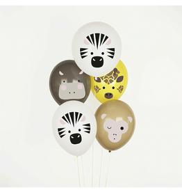 My Little Day Ballonnen safari dieren | 5st