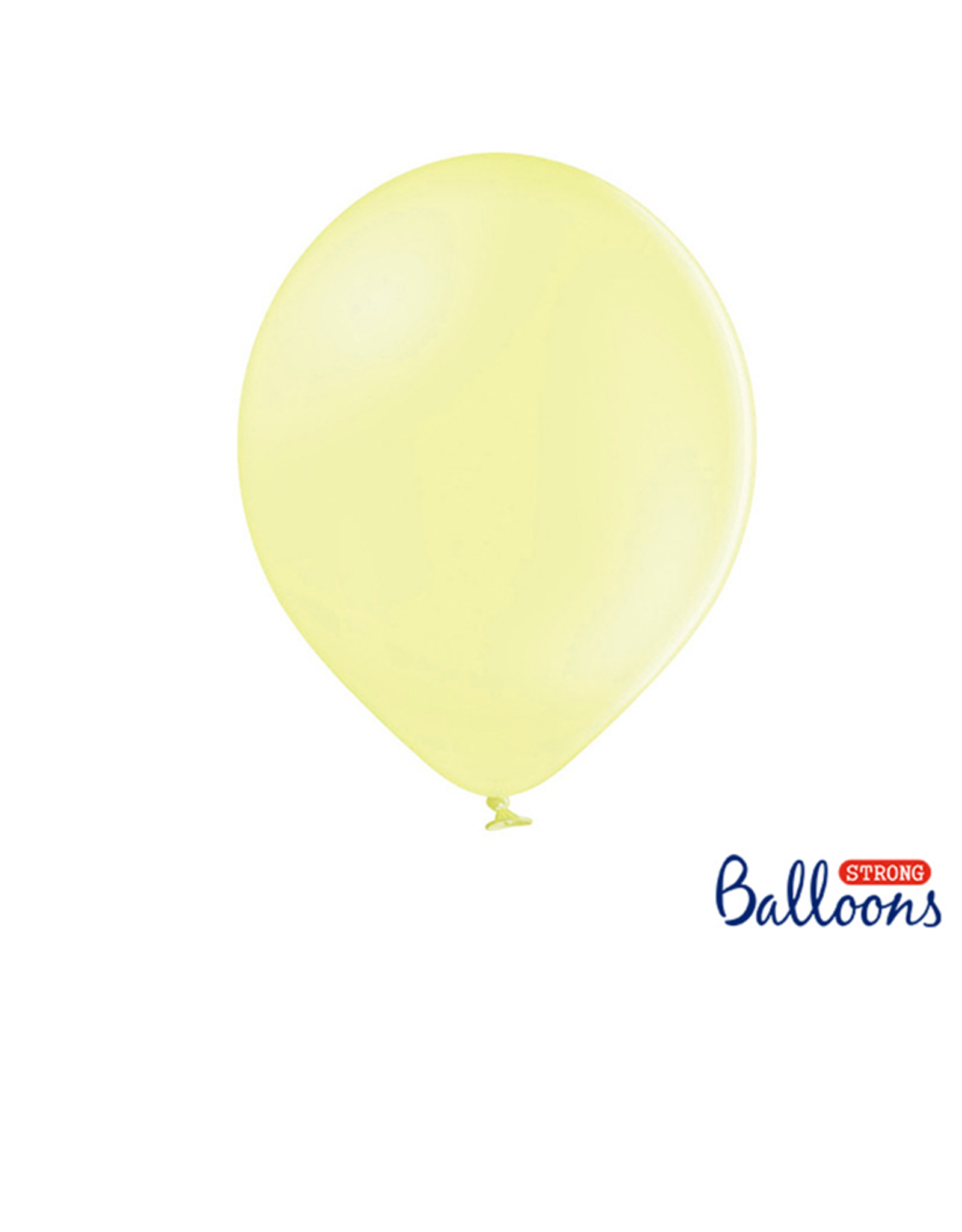 Strong Balloons Ballonnen pastel geel (30 cm) | 10 stuks