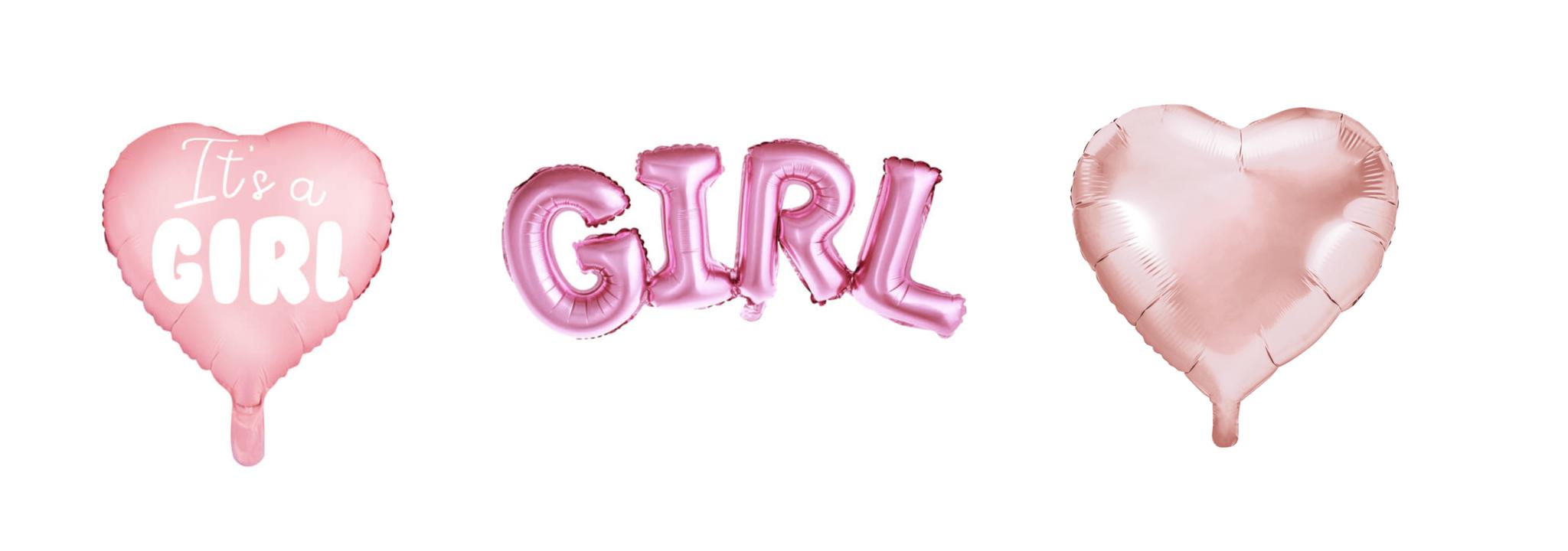 It's a girl versiering ballonnen