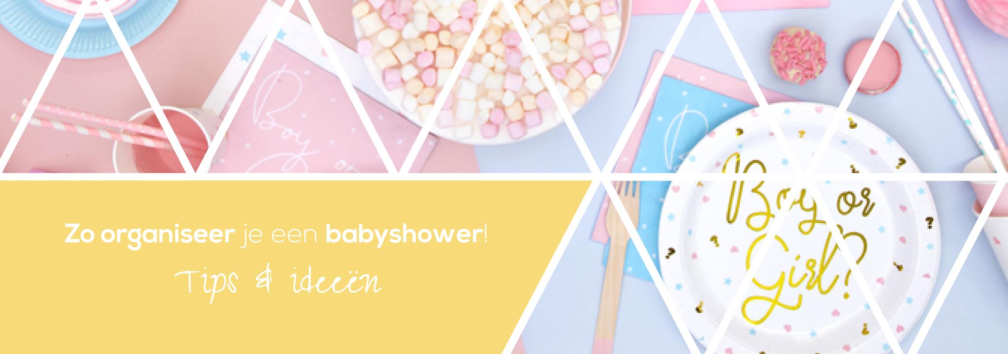 Zo organiseer je een babyshower: tips & ideeën