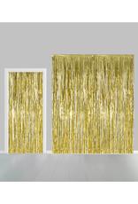 Backdrop feestgordijn goud