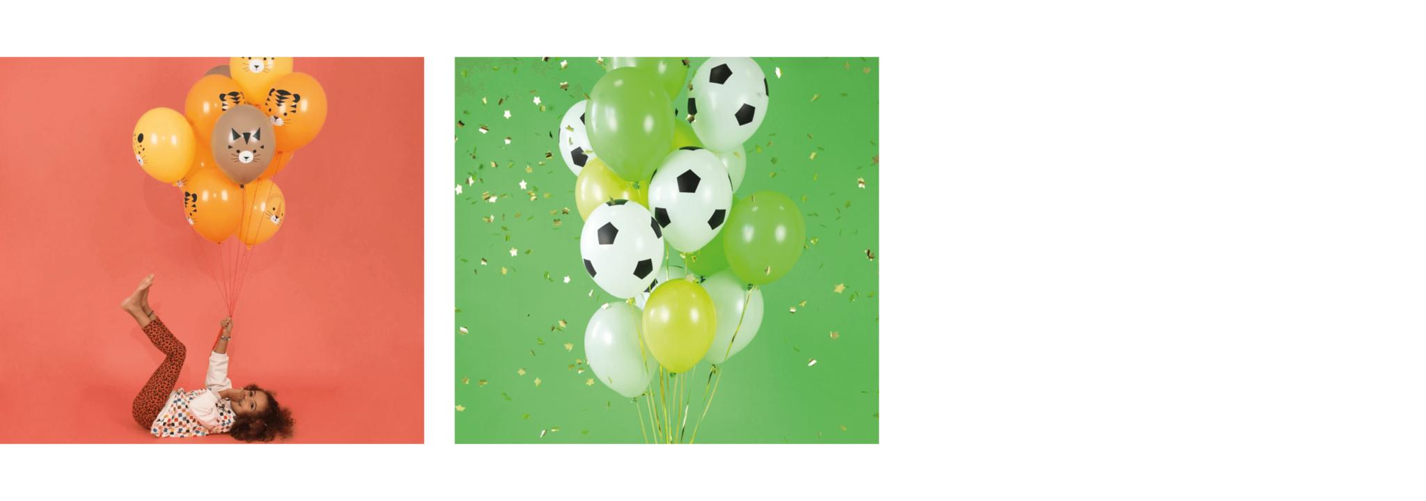 Ballonnen verjaardag print