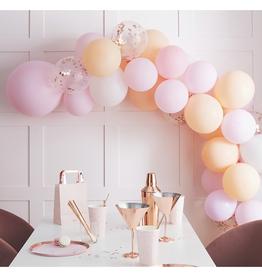 Ginger Ray Ballonnenboog pink & peach mat DIY