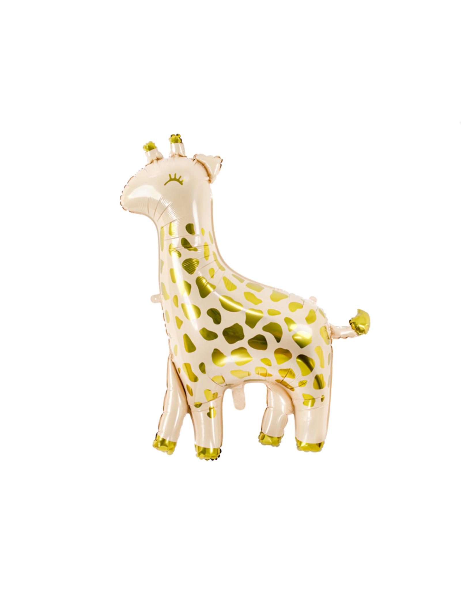 PartyDeco Folie ballon giraf | 80 cm x 102 cm