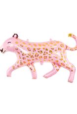 PartyDeco Folie ballon roze panter | 103 cm x 63 cm