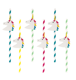 My Little Day Papieren unicorn rietjes | 12st