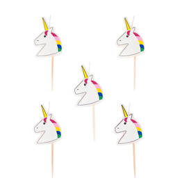 My Little Day Unicorn kaarsjes | 5st