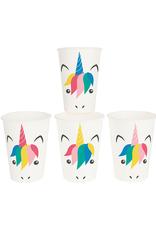 My Little Day Papieren bekertjes unicorn print | 8 stuks