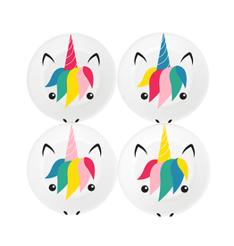 My Little Day Papieren bordjes unicorn print | 8st